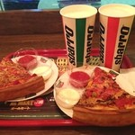 スバーロ - かなり久しぶり〜  で,シカゴで食べて以来のDeep dish! やっぱり美味しかった〜 すげ〜ボリュームで,体調不良には堪えたけど^^