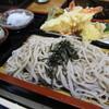 神宮亭  - 料理写真:天ざるそば