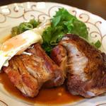 フランス田舎料理の店 ビストロ ベズ - 三元豚のスペアリブ