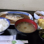 酒房肴町 - さば味噌煮定食700円