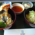 日本料理 磯風 - 磯風特製「大えび天丼」 1,600円