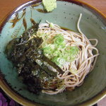 更科 - 掛け蕎麦(冷)