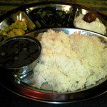 2126687 - ネパールセット(ダール豆スープ、ザブジ、アチャール、デザート、ライス)