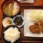 竹とんぼ - とんかつ定食