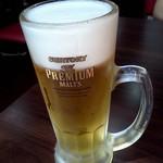 びびこ - 1ドリンク、当然生ビール