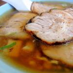 塩苅食堂 - 2013年9月11日(水) チャーシューメン(750円) スープ
