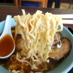 塩苅食堂 - 2013年9月11日(水) チャーシューメン(750円) 自家製麺