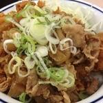21262893 - 肉盛りカツ丼(>_<)