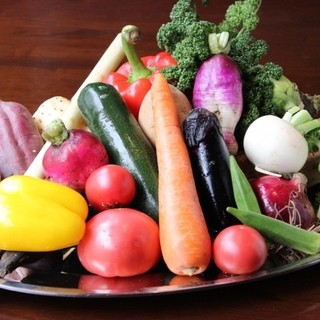 無添加・無農薬にこだわり。すべて手作りで安心、安全なお料理。