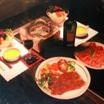 レア館 - 料理写真:コース料理も各種御用意。