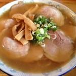 太陽 - 大寿(やきぶた多し、麺大盛り)1100円