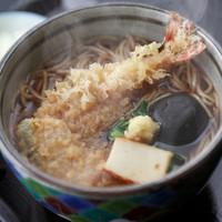 絹引の里 - 寒い時期にオススメ絹引天ぷら生姜うどん