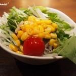 鉄板焼 宮地 - ■コンビネーションサラダ