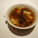 21268231 - ボリボリと豆腐のスープ「