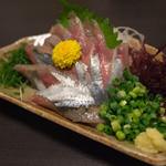 酒菜食彩 七福 - さんま刺 504円