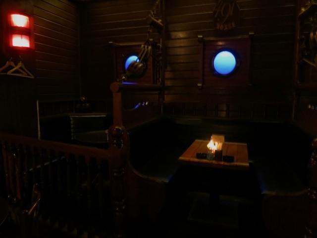 491house - 店内は港町らしく船内のイメージで造られています