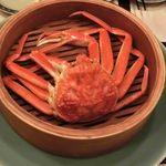 あぶりや儀七 - 蒸しタラバ蟹
