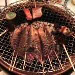 あぶりや儀七 - 海鮮串焼き