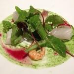 21271232 - 旬な魚介と道産有機野菜