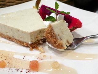 アボカフェ - アボカドレアチーズケーキ