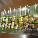 橋本食堂 - うなぎの串焼き