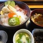 魚中寿司店 - 料理写真:海鮮丼定食