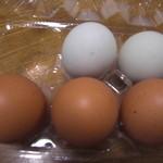 押木養鶏場 - アローカナ卵&○○卵 忘れました、、、