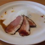 アン アミティエ - ワンプレートランチ       前菜の鴨