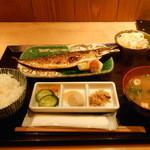 米祥 - 鯖の文化干し定食