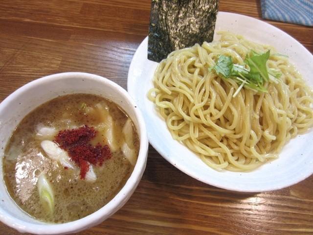 上海麺館 - 鶏つけ