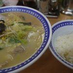 中華料理 貴楽 - ちゃんぽんセット