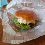 naru - ハンバーガー580円。肉感、ボリュームとも○