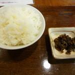 祭ラーメン - ご飯 並 (高菜付) ¥150