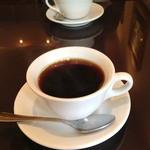 21281221 - ブレンドコーヒー(はなやかブレンド) 480円也。