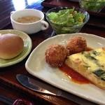 Kitchen Le ciel - キッシュランチ900円