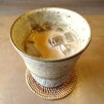 コーヒー がじゅまる - アイスカフェオレ