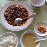 四川飯店 池袋店 - 麻婆定食
