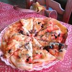 21290701 - タラコのピザ