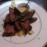 フッチャ - 牛もも肉のグリル♪アリサマヨネーズ添え