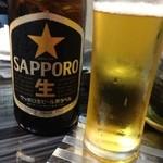 21293090 - 瓶ビール 500円