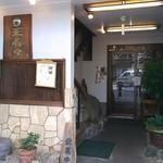 玉寿々 - 県道衣笠通側入口