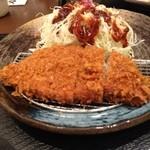 とんかつ 和幸 - ロースカツ定食。