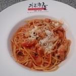 21295083 - ベーコンのトマトパスタ