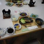 休暇村 吾妻山 - 料理写真:比和の 素朴な晩ご飯