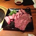 卸)南越谷食肉センター極 - 極み上タン塩、極み上ハラミ