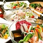 テイストシックス - お野菜をふんだんに使ったお料理コース☆
