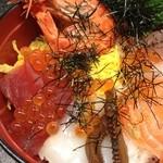 楓林 - 具沢山海鮮丼♪
