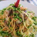 イタリア食堂トンノ - 小ダコのペペロンチーノ。