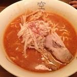 麺屋 空 - みそラーメン 730円
