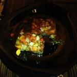 ビストロ シャノアール - パプリカとスペイン産イベリコ豚舌のゼリー寄せ